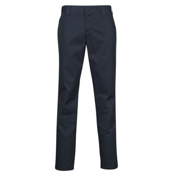 material Men 5-pocket trousers Dickies SLIM FIT WORK PNT Marine