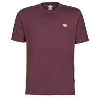 material Men short-sleeved t-shirts Dickies MAPLETON Bordeaux