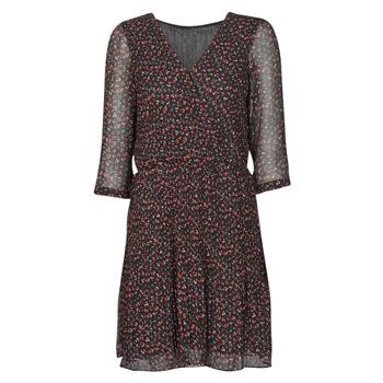 material Women Short Dresses Moony Mood NOULINE Black / Red