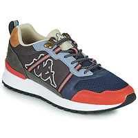 Shoes Men Low top trainers Kappa LINO Grey / Marine / Orange