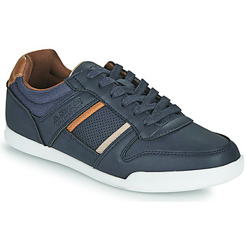 Shoes Men Low top trainers Kappa MADOL Marine / Brown