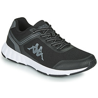 Shoes Men Low top trainers Kappa FASTER Black / Grey