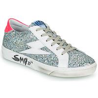 Shoes Women Low top trainers Semerdjian CATRI Silver / Pink