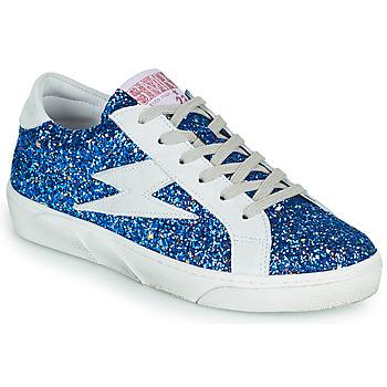 Shoes Women Low top trainers Semerdjian OSLO Blue