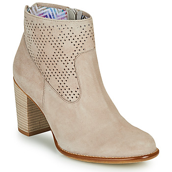 Shoes Women Ankle boots Dorking ALEXA Beige