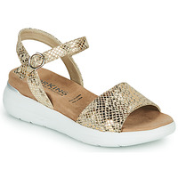 Shoes Women Sandals Dorking ROCK Gold