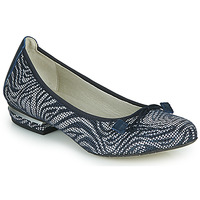 Shoes Women Ballerinas Dorking IREM Marine / Silver