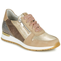 Shoes Women Low top trainers Dorking VIOLA Gold