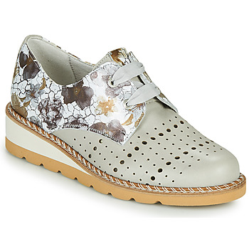 Shoes Women Derby shoes Dorking TETRIS Grey