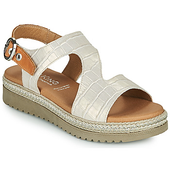 Shoes Women Sandals Dorking WENT Beige / Brown