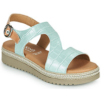 Shoes Women Sandals Dorking WENT Green / Brown