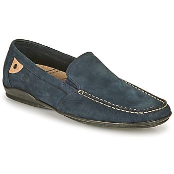 Shoes Men Loafers Fluchos 7149-CROSS-OCEANO Marine