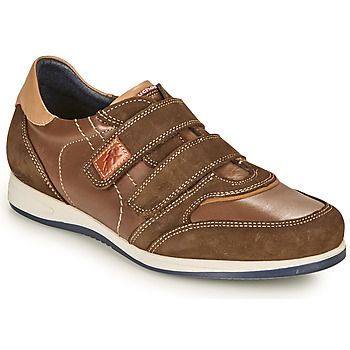 Shoes Men Low top trainers Fluchos 9271-CRETA-FOCA Brown