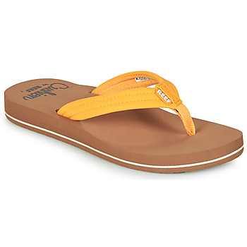 Shoes Women Flip flops Reef REEF CUSHION BREEZE Yellow