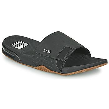 Shoes Men Sliders Reef FANNING SLIDE Black