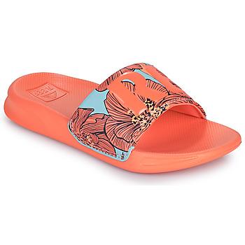 Shoes Girl Sliders Reef KIDS ONE SLIDE Orange