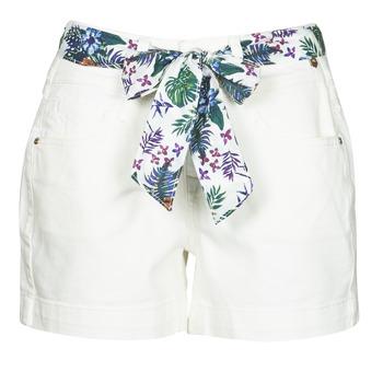 material Women Shorts / Bermudas Freeman T.Porter GINGER MUZEY Snow / White