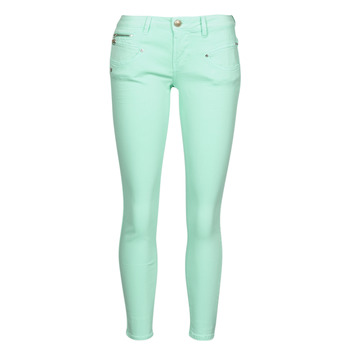 material Women 5-pocket trousers Freeman T.Porter ALEXA CROPPED NEW MAGIC COLOR Blue