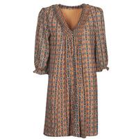 material Women Short Dresses Freeman T.Porter JUNA SAMBA Orange
