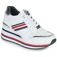 Shoes Women Low top trainers Tom Tailor YOLI White / Blue / Red