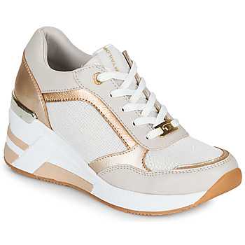 Shoes Women Low top trainers Tom Tailor JISEL White / Silver