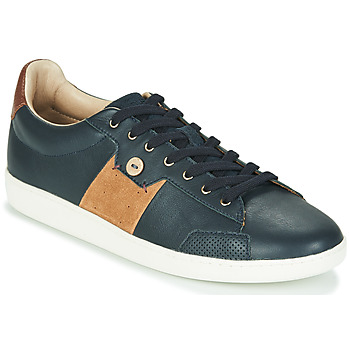 Shoes Men Low top trainers Faguo HOSTA Marine / Brown