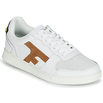 Shoes Men Low top trainers Faguo HAZEL LEATHER White / Brown