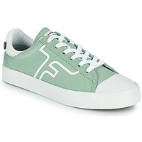Shoes Low top trainers Faguo KIWI Green / White