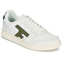 Shoes Low top trainers Faguo HAZEL White / Kaki
