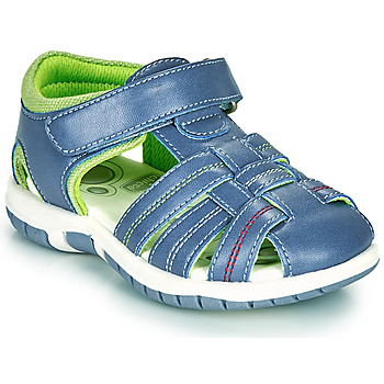 Shoes Boy Sandals Chicco FAUSTO Blue / Green