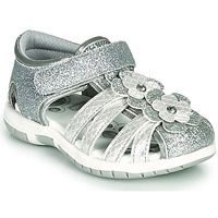 Shoes Girl Sandals Chicco FIUME Silver