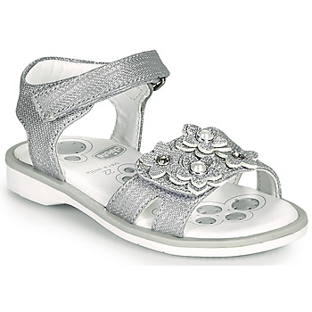 Shoes Girl Sandals Chicco CETRA Silver