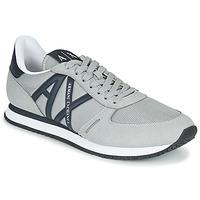 Shoes Men Low top trainers Armani Exchange ESPACIA Grey
