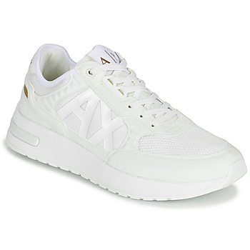 Shoes Men Low top trainers Armani Exchange VALENCIA White / Gold