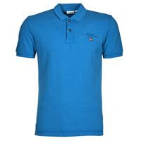 material Men short-sleeved polo shirts Napapijri ELBAS 4 Blue
