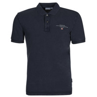material Men short-sleeved polo shirts Napapijri ELBAS 4 Marine