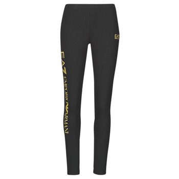 material Women leggings Emporio Armani EA7 8NTP63-TJ01Z-0200 Black / Gold