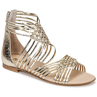 Shoes Women Sandals Fru.it 6775-100-PLATINO Gold