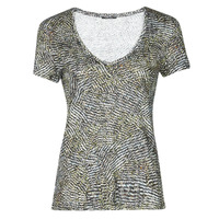 material Women short-sleeved t-shirts One Step MILLET Kaki