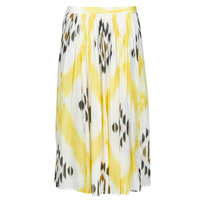 material Women Skirts One Step JOSEPHINE Yellow / Multicolour