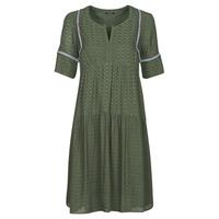 material Women Short Dresses One Step RAFIA Kaki