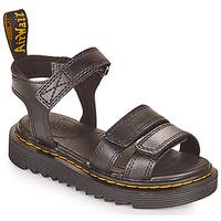 Shoes Girl Sandals Dr Martens KLAIRE J Black