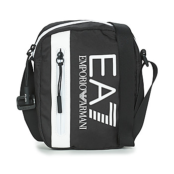 Bags Men Pouches / Clutches Emporio Armani EA7 TRAIN CORE U POUCH BAG SMALL C Black / White