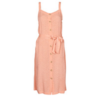 material Women Short Dresses Rip Curl TALLOWS SPOT MIDI Peach