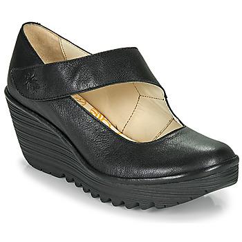 Shoes Women Court shoes Fly London YASI Black