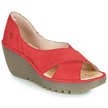 Shoes Women Sandals Fly London YOMA Red