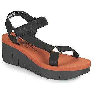 Shoes Women Sandals Fly London YEFA Black