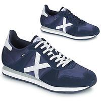 Shoes Men Low top trainers Munich MASSANA 433 Blue