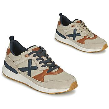 Shoes Men Low top trainers Munich ALPHA 49 Beige / Blue