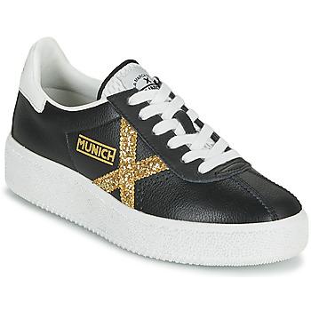 Shoes Women Low top trainers Munich BARRU SKY 62 Black / Gold